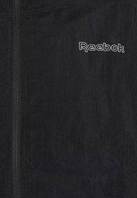 Reebok - PIPING TRACKSUIT - Tepláková souprava - black - 6