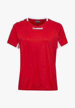 CORE TEAM  - T-shirt print - true red