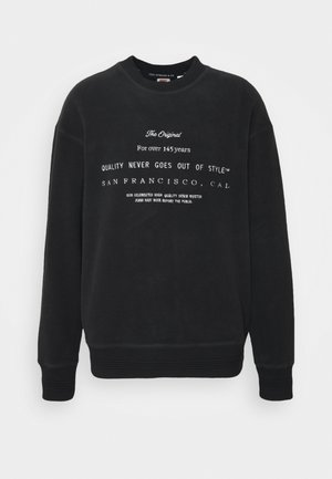 UNISEX - Sweater - jet black