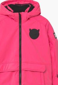 SuperRebel - SUSTAINABLE PLAIN UNISEX - Snowboardová bunda - fluo pink - 4