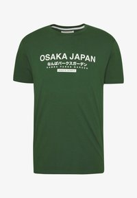 Pier One - OSAKA TEE - Print T-shirt - green - 4