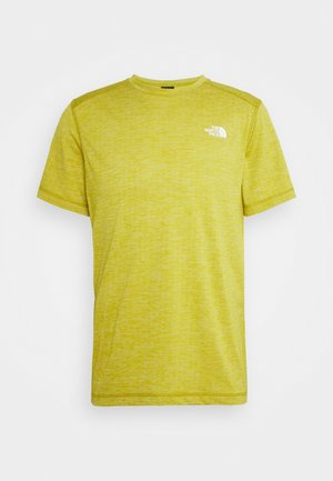 LIGHTNING TEE - Basic T-shirt - mottled ochre