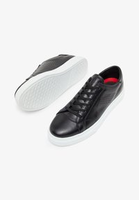 Bianco - BIANCO SNEAKERS LEDER - Trainers - black - 1