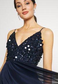 Lace & Beads - AZALIA MIDI - Cocktail dress / Party dress - navy - 4