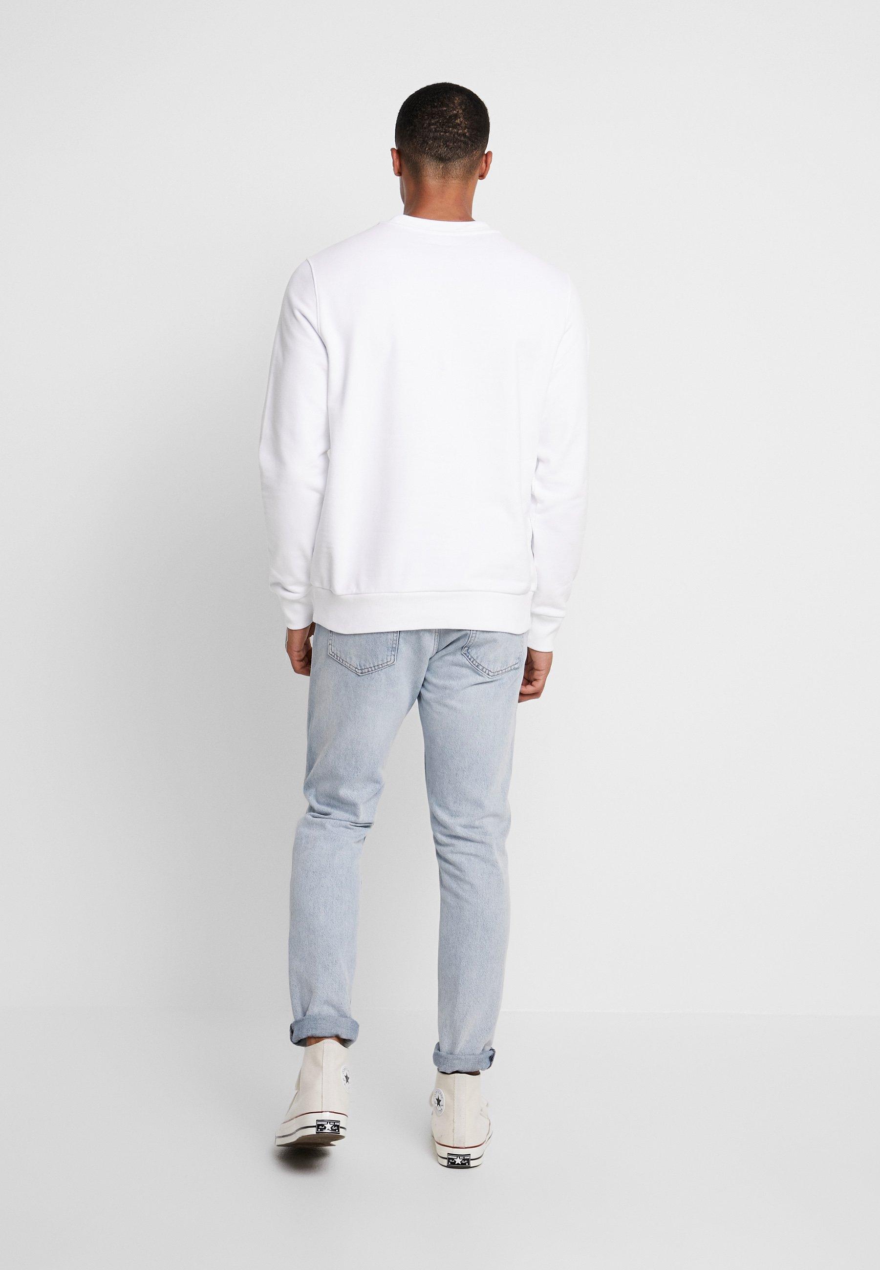 Osta Halvalla Miesten vaatteet Sarja dfKJIUp97454sfGHYHD Calvin Klein LOGO EMBROIDERY Collegepaita white