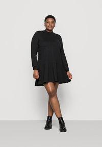 Vero Moda Curve - VMBISTAD - Denní šaty - black - 1