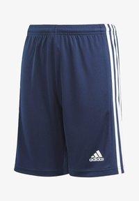 adidas Performance - Squadra 21 Y AEROREADY PRIMEGREEN FOOTBALL REGULAR SHORTS - Sports shorts - blue - 0