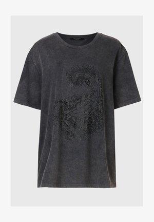 CELESTE SCORPION MIL - Print T-shirt - black
