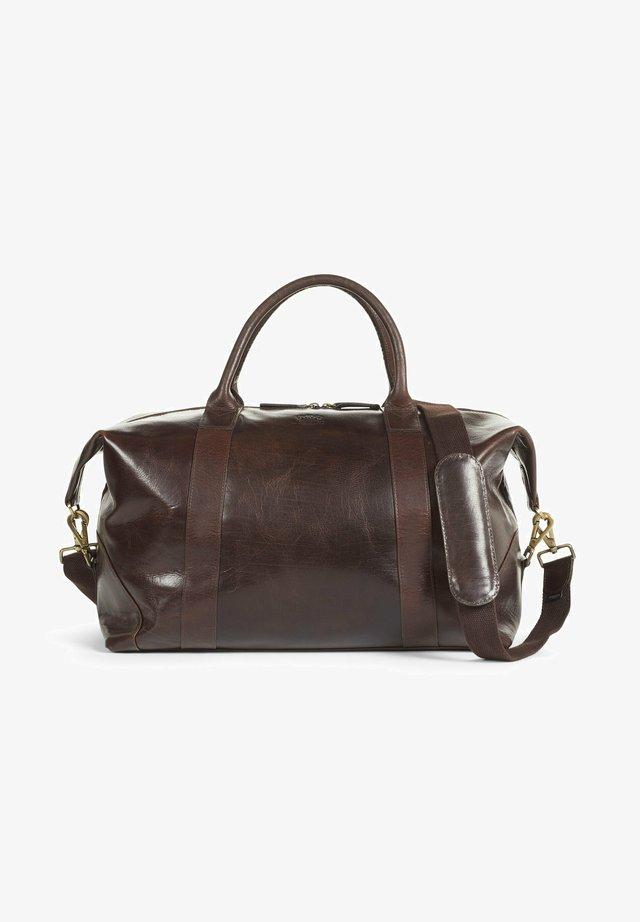 Weekendbag - dark brown