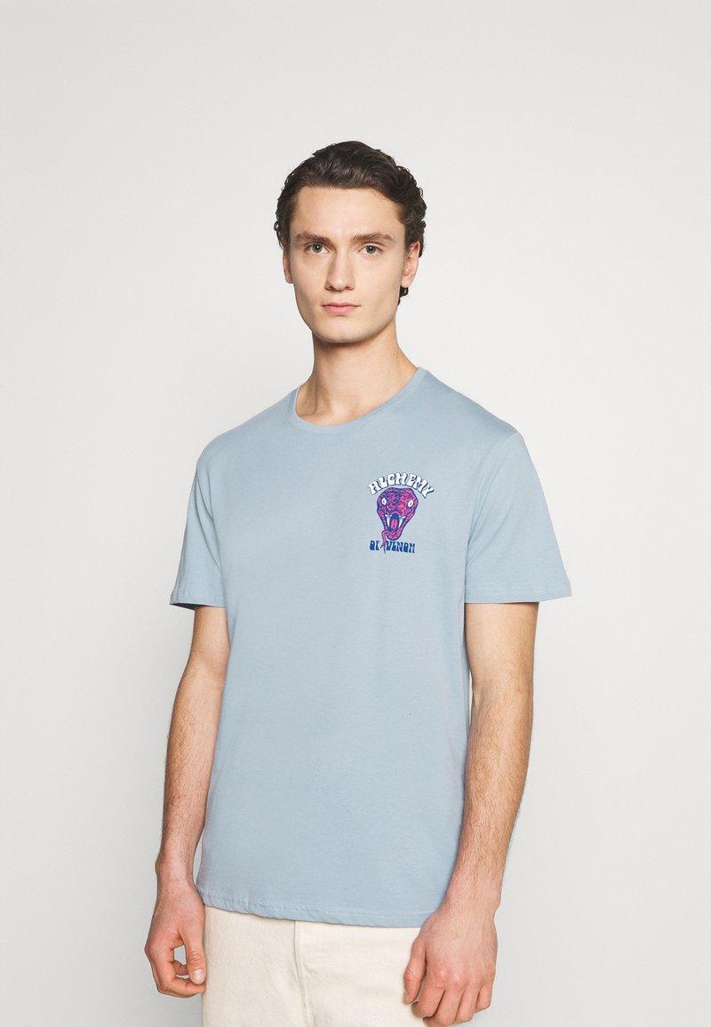 YOURTURN - UNISEX - T-shirt med print - blue