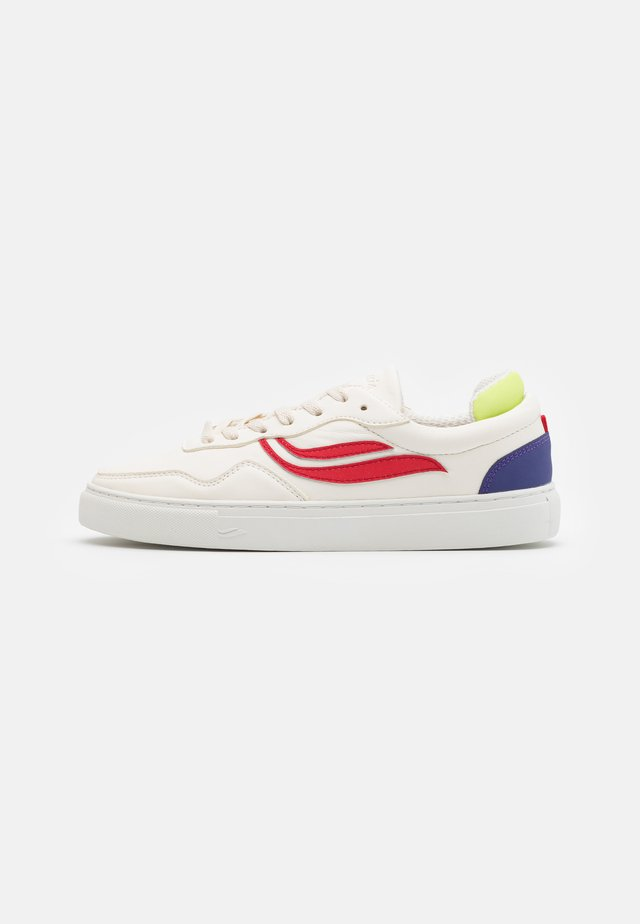 SOLEY UNISEX  - Sneakers laag - white/red/blue/green