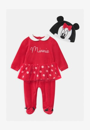 SET - Sleep suit - true red