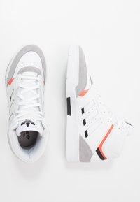 adidas Originals - DROP STEP - Sneakersy wysokie - footwear white/granit/solar red - 1