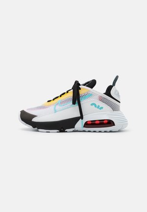 AIR MAX 2090 - Sneakers laag - white/bleached aqua/black/speed yellow