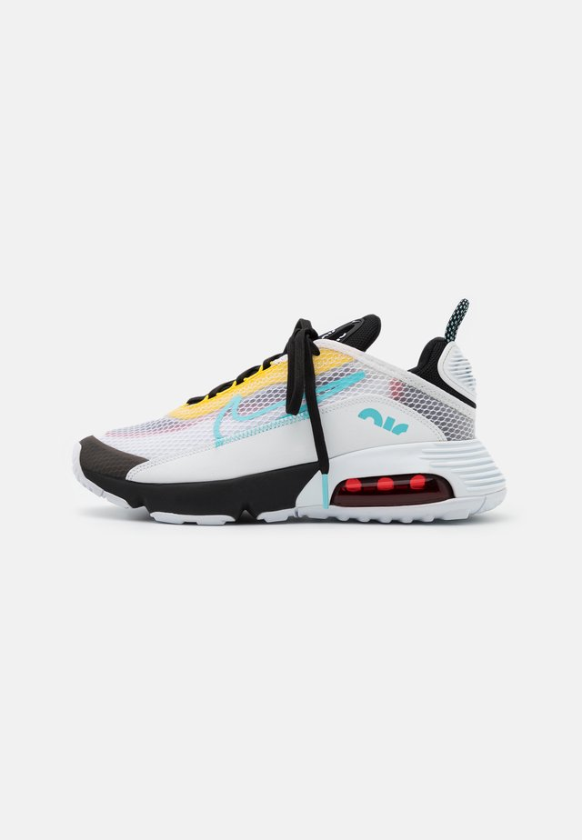 AIR MAX 2090 - Sneakers basse - white/bleached aqua/black/speed yellow