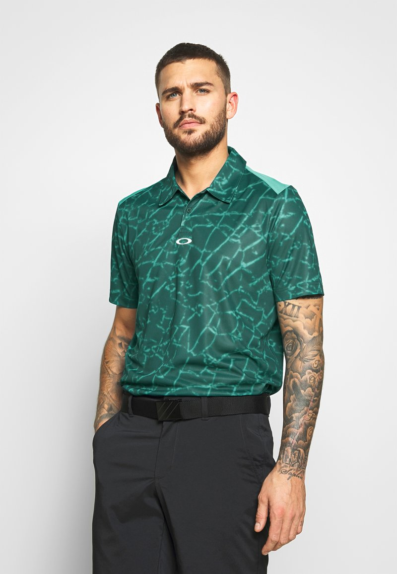 Oakley - BROKEN GLASS - Polo shirt - green