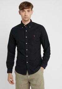 Polo Ralph Lauren - OXFORD - Skjorta - black - 0