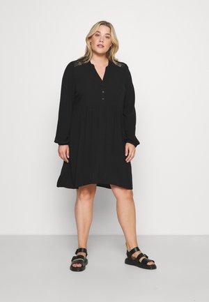 VMNEWDEBBIE V NECK DRESS - Vapaa-ajan mekko - black