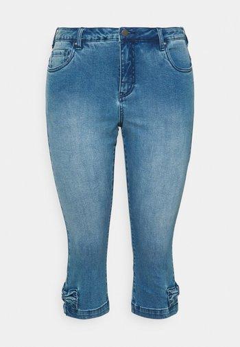 JCATHERINE BOW KNICKERS - Denim shorts - blue denim