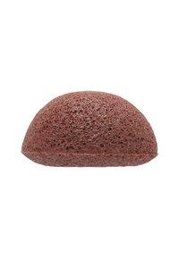 Konjac Sponge - KONJAC FACIAL SPONGE - Huidverzorgingstool - rote tonerde - 1