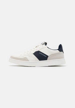 JFWCARAS COMBO - Sneakersy niskie - white/navy blazer