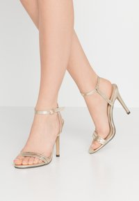 4th & Reckless - RYLEY - High heeled sandals - gold - 0