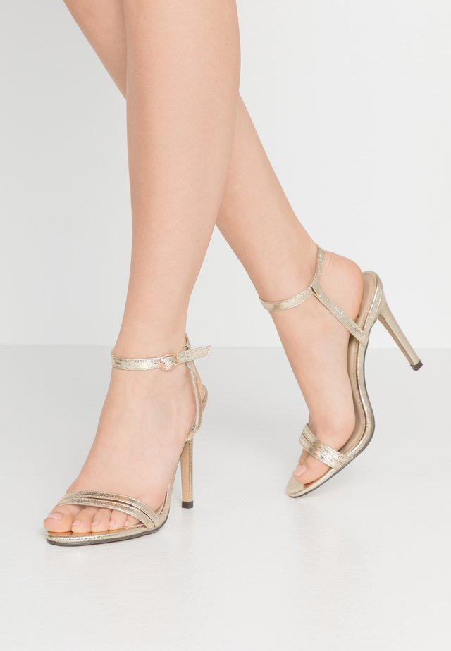 RYLEY - High heeled sandals - gold
