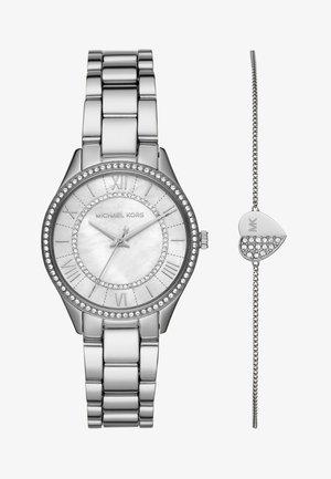 LAURYN SET - Watch - silver-coloured