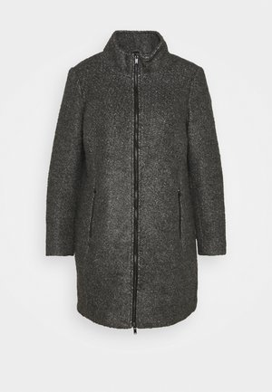 CAAMES COAT - Classic coat - dark grey melange