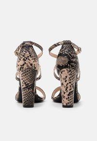 Glamorous - Sandały na obcasie - beige - 3