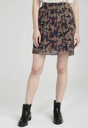 NHNJ73 - A-line skirt - blue