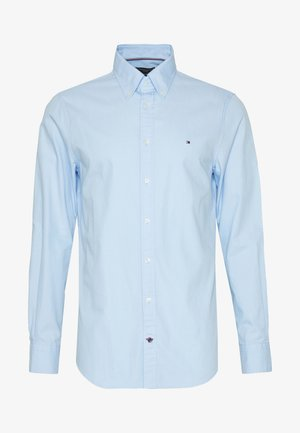 WASHED BUTTON DOWN SLIM  - Camicia - blue