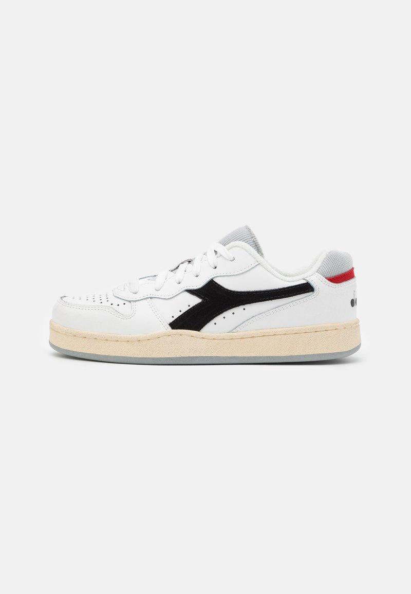 Diadora - MI BASKET ICONA UNISEX - Zapatillas - white/black/high rise