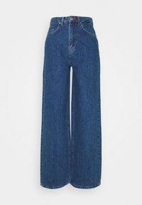 NA-KD - WIDE LEG  - Jeansy Straight Leg - mid blue - 6