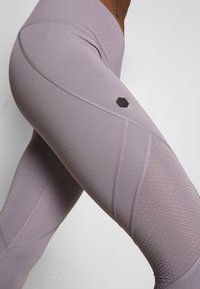 Under Armour - RUSH CROP - Leggings - slate purple - 4