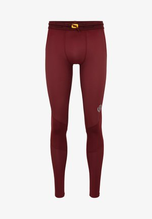 SKINS - Leggings - burgundy
