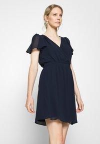 NAF NAF - SEZER  - Cocktail dress / Party dress - bleu marine - 0