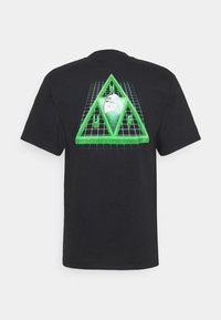 HUF - DIGITAL DREAM TEE - Print T-shirt - black - 1