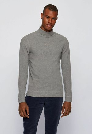 Long sleeved top - light grey