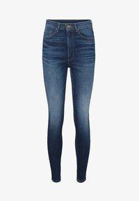 VMSOPHIA HIGH WAIST - Jeans Skinny Fit - dark blue denim