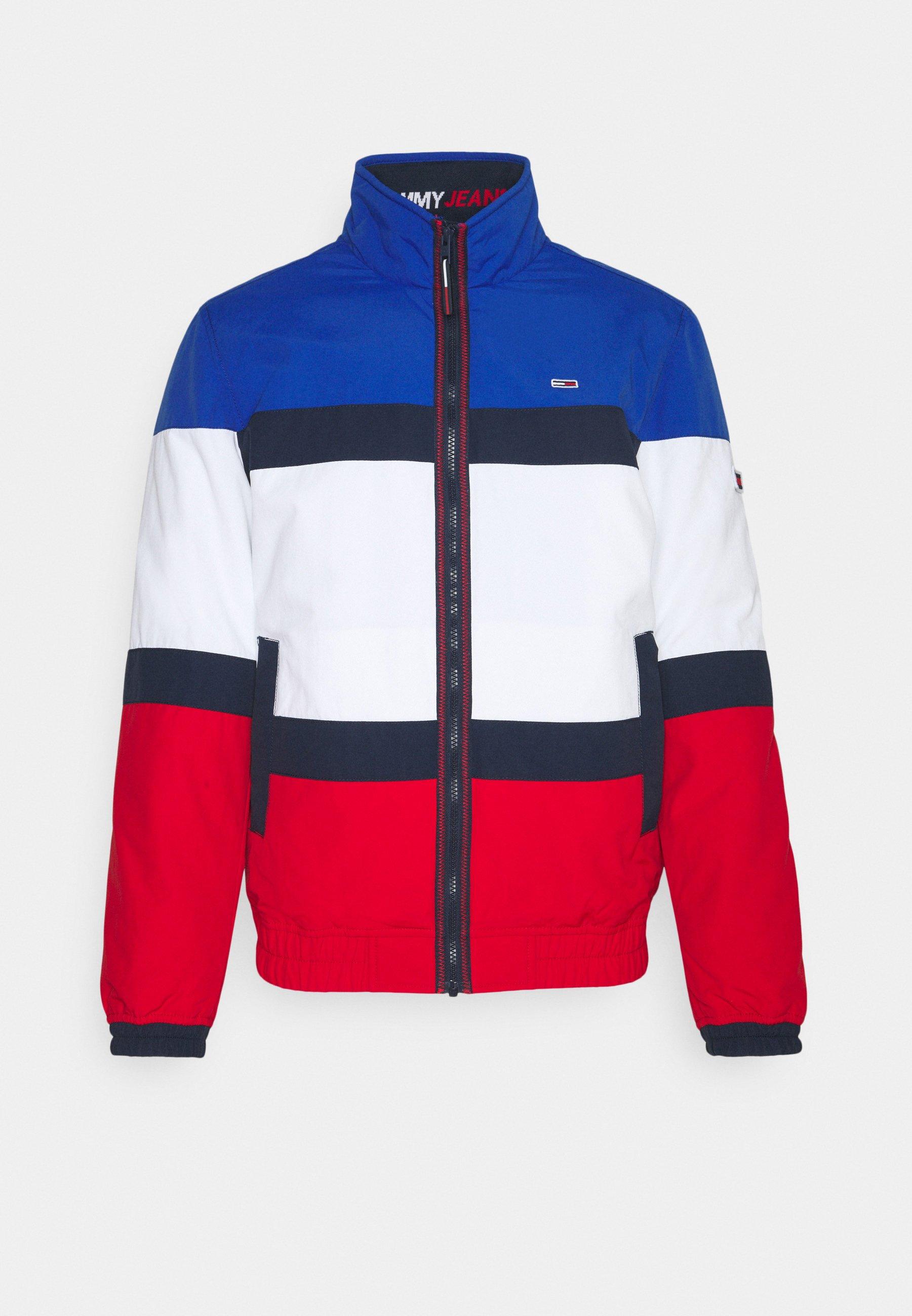 Men COLORBLOCK PADDED JACKET - Light jacket