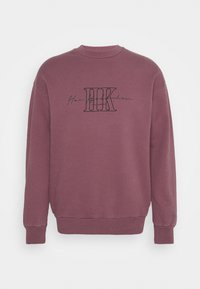 ARTWORK CREW - Sweatshirt - faded dark red