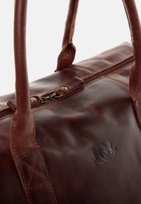 SID & VAIN - REISETASCHE - YALE ZIP - Weekend bag - braun-cognac - 3