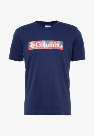 RAPID RIDGE™ GRAPHIC TEE - T-Shirt print - collegiate navy/sky blue