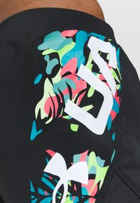 Under Armour - FLY BY 2.0 FLORAL SHORT - Sports shorts - black - 4