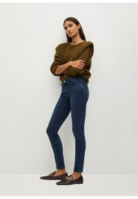 Mango - KIM - Jeans Skinny Fit - diep donkerblauw - 1