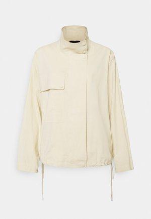 CROP ANORAK - Summer jacket - light linen