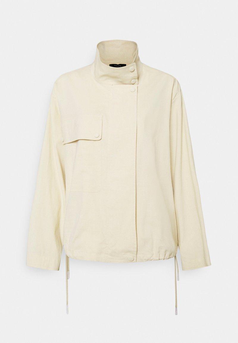 Theory - CROP ANORAK - Summer jacket - light linen