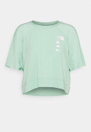 GLACIER TEE  - T-shirts med print - mint