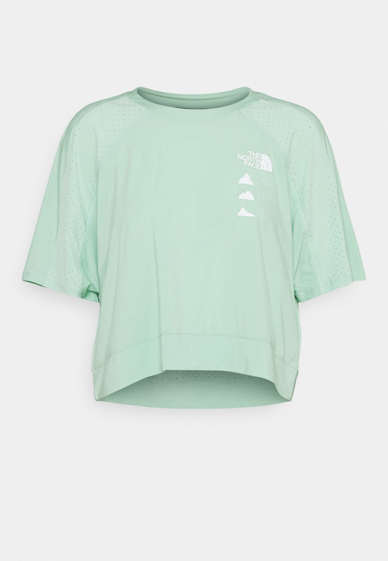 The North Face - GLACIER TEE  - Print T-shirt - mint
